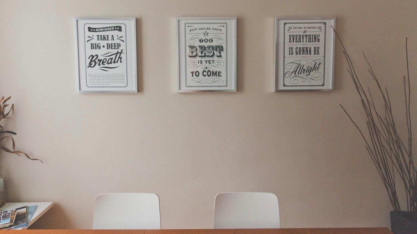 inspirational wall decor
