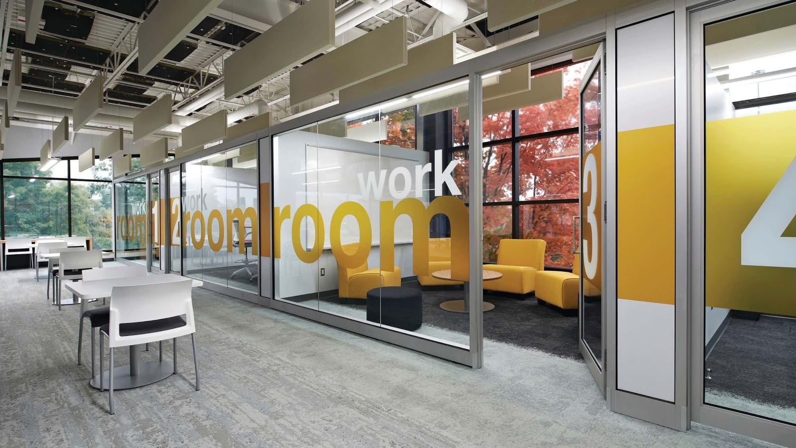 office glass partition designs