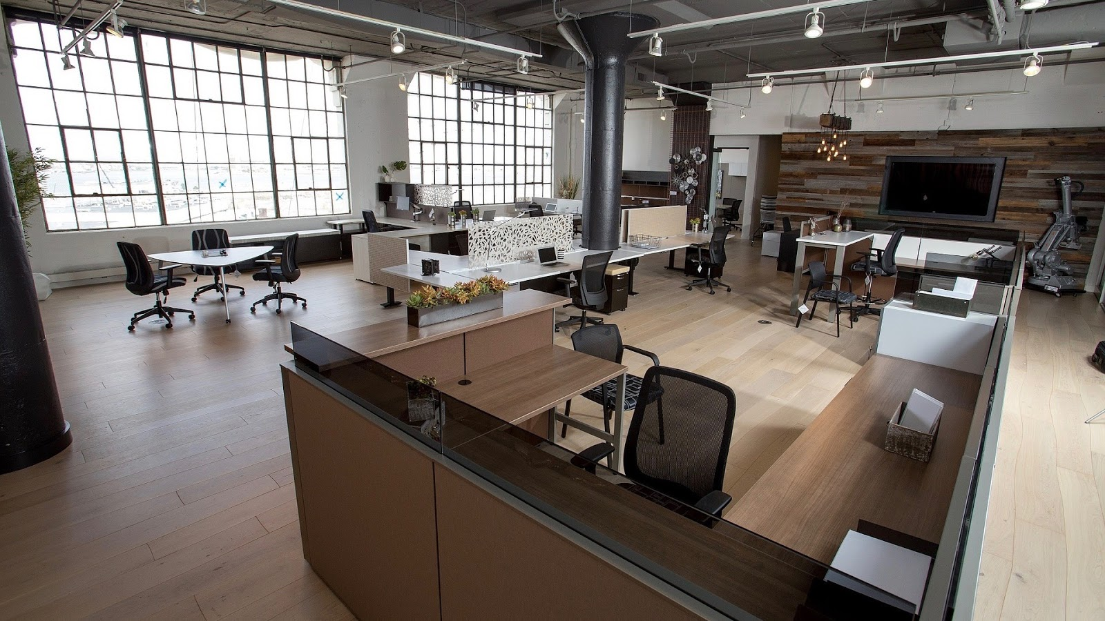 make social distancing in the office a priority
